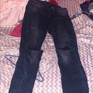 H&M Super Low Skinny Jean